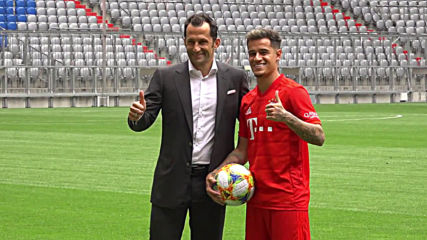 Germany: 'A big responsibility' – Coutinho joins FC Bayern Munich on loan