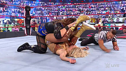Charlotte Flair & Asuka vs. Nia Jax & Shayna Baszler: Raw, Feb. 22, 2021