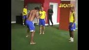 Ronaldinho,  Robinho,  Roberto carlos