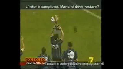 Интер Шампион! Награждаване!