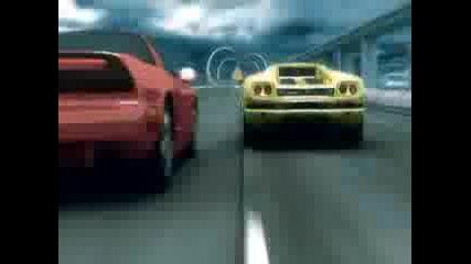 Най - Лудата Анимация over Drive Racing Animation