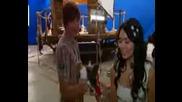 Много Смешно Клипче На Зак И Ванеса на снимките на Hsm 3:senior Year