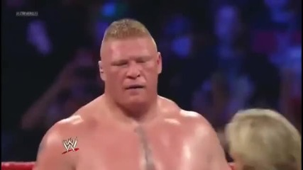 Екстремни Правила 2012 : Брок Леснар срещу Джон Сина - Със хубаво качество!!!