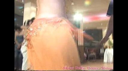 Akira belly dance show