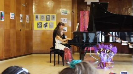 Лекси Александрия концерт по пиано Немски танц от Шуберт Schubert