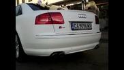 Audi S8 ауспуси M-car Tuning