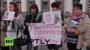 Ukraine: Duel protests hit Rada demanding troops home and debt restructured