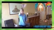 Баба трепе покемони, фитнес полтъргайст и уникален танц - Минутка смях