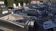 Greece: Locals seek refuge in temporary camp after powerful quake wreaks havoc in Larissa