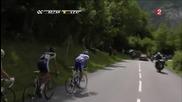 Contador attacks - Tour de France 2011 - Stage19 - Col du Telegraphe