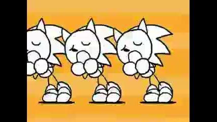 Caramelldansen - Sonic the Hedgehog