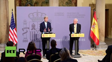 Spain: Kerry to meet Russia to discuss 'tangible' options for Syria
