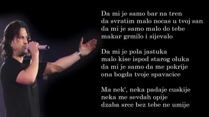 Aca Lukas - Da mi je - (Audio - Live 1999)