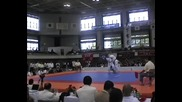 Slavi Slavov (bul) vs Jin Chengxuan (kor) All Japan 2010, Semi-final Heavyweight