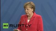 Germany: Merkel talks Ukraine crisis during presser with Poroshenko