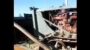 Запалване на трактор Т-100МЗ