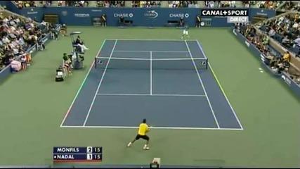 Едно от най - добрите разигравания в историята на Us Open !