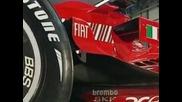 / Болид На Ferrari 2008 /