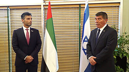 Israel: First Emirati ambassador arrives in Israel to meet with Israeli FM in Jerusalem