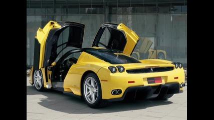 Bugatti, Lamborgini, Ferrari и Mercedes снимки + песен