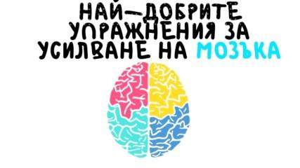 Най-добрите упражнения за усилване на мозъка
