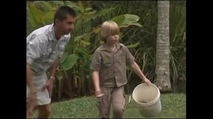 """Синът на """"Ловецът на крокодили""""  тръгва по стъпките му"""