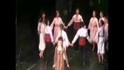 танц Полегнала е Гергана
