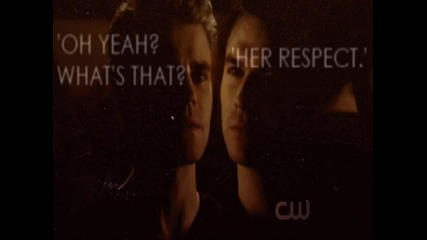 Impossible love / The Vampire Diaries/ Elena,damon and Stefan