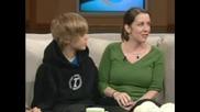 Justin Bieber с майка си