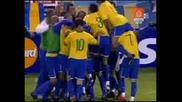 Аржентина - Бразилия 1 - 3 06.09.2009