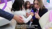 Палестински зъболекар помага на децата да превъзмогнат страховете си