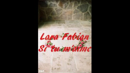 Lara Fabian Si tu m'aimes