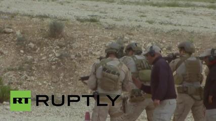 Йордания: Американски отряд показва умения в ежегодните военни състезания, 2015