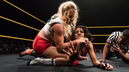 Дакота Кай срещу Лесли Еванс: Разбиване, 18 юли 2018