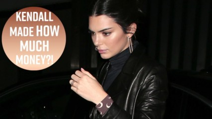 Kendall Jenner is highest-paid model of the year (AGAIN)