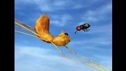 Мъничките насекоми и порива на вятъра