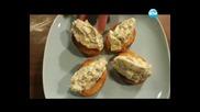 Пълнено телешко руло с гарнитура от полента, тортата на кралете - Бон апети (05.01.2014г.)