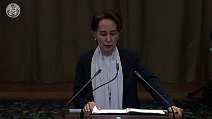 Netherlands:  Aung San Suu Kyi calls ICJ case against Myanmar 'incomplete and misleading'