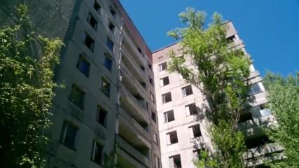 Изоставения град Припят - Май 2017 година, блокове и апартаменти