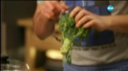 """Зеленчукова супа с тофу и крем със солен карамел в """"Бон Апети"""" (14.05.2015г.)"""