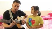 Баща и дъщеря пеят невероятно!