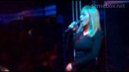 Галена - Аларма (feat. Емилия & Малина) Live @ Club Deluxe 23.10.2010