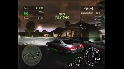 Nosxvenoms first drifting on Hillside Manor with Skyline R33 Gts - T