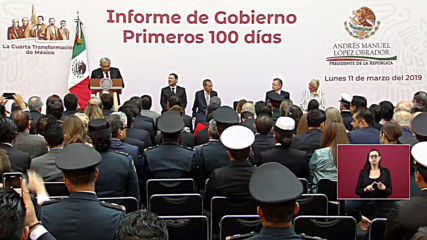 Mexico: President AMLO celebrates 100 days in office