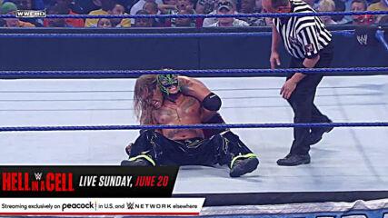 Rey Mysterio vs. Edge - Champion vs. Champion Match: SmackDown, June 5, 2009 (Full Match)