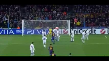 Рекордните пет гола на Меси в 30 секунди