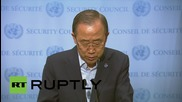 """USA: """"Enough is enough"""" - Ban Ki-Moon fires CAR mission chief over sexual abuse claims"""