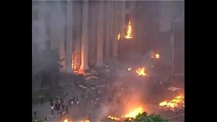 Одеса 02 май 2014 г. Нападението срещу Профсъюзния дом