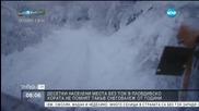 В Лъки снегът достигна метър, хората са без ток втори ден