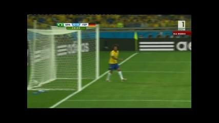Кошмар за Бразилия ! Германия ги победи със 7:1 !